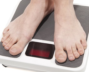 Making Weight Image_Standing on scales
