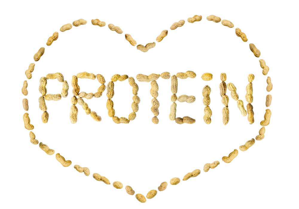 heart shaped protein in words