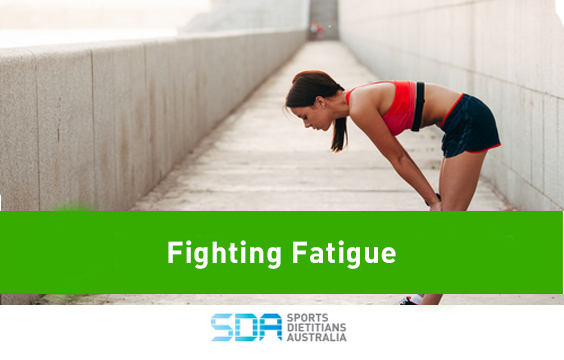 Fighting Fatigue website image